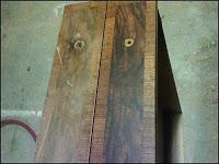 Walnut Desk With Burl Veneer 2 by - Wall Woodworks Co
