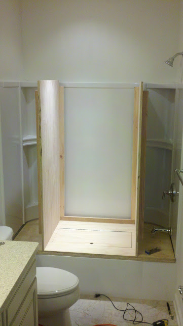 Tub To Closet Conversion Wall Woodworks Company