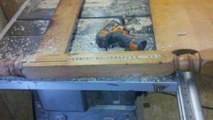 Head Board Loveseat 4 by - Wall Woodworks Co