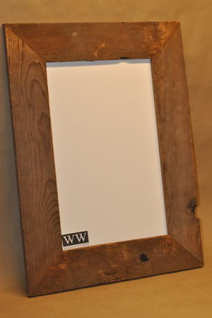 Rustic Picture Frame 3 by - Wall Woodworks