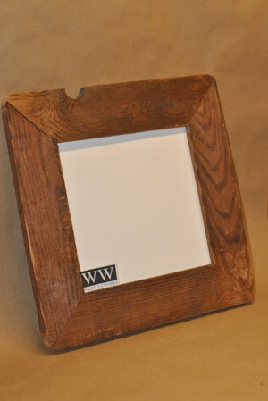 Rustic Picture Frame by - Wall Woodworks