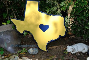 Wedding Guest Book Puzzle The Heart of Texas by - Wall Woodworks Co