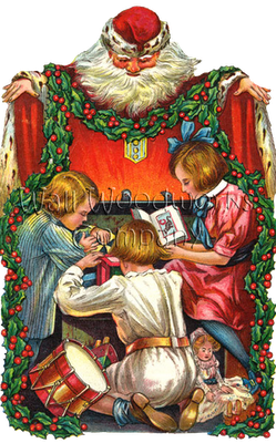 Wood Jigsaw Puzzle with Santa's Arms by - Wall Woodworks Co