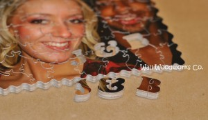 Handmade Photo Wood Jigsaw Puzzle J & B1 by - Wall Woodworks Company