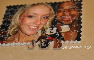 Handmade Photo Wood Jigsaw Puzzle J & B2 by - Wall Woodworks Company