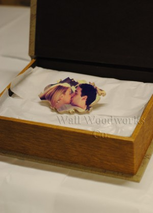 Wedding Guest Book Puzzle A Custome Wood Jigsaw Puzzle 4 by - Wall Woodworks Co