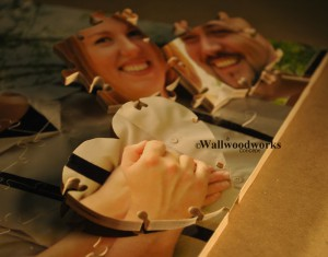 Wood Wedding Guest Book Puzzle A Jigsaw Puzzle Guest Book 3 by - Wall Woodworks Co