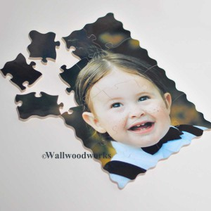 Wooden Kids Puzzle - Wall Woodworks Company