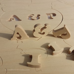 Natural State Wedding Guest Book Puzzle - Wall Woodworks Company