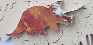 Dinosaur Jigsaw puzzle piece