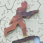 Toy Soldier Jigsaw puzzle piece