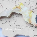 florida state wood jigsaw puzzle piece