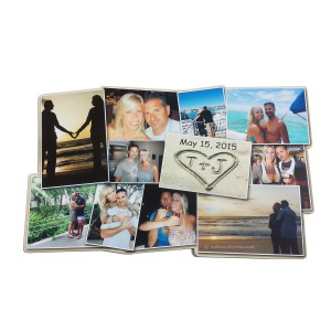 Photo Collage Guest Book Puzzle - Wall Woodworks Company