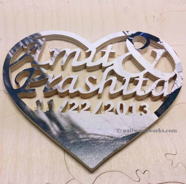 Medallion Wedding Puzzle - Wall Woodworks Company