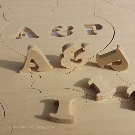 Wedding Puzzle Guest Books Wood Jigsaw Puzzles Wall Woodworks