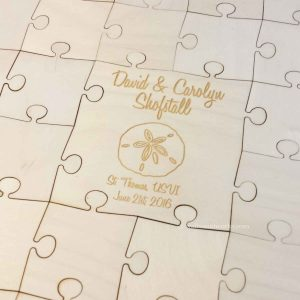 Sand Dollar Wedding Puzzle