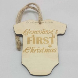 Tree Decoration - Baby First Christmas