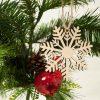 Tree Ornamnt - Snowflake
