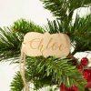 Wood Gift Tag - Name