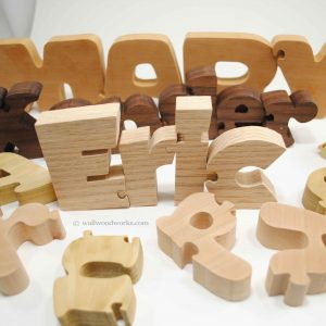 Wood Name Puzzle
